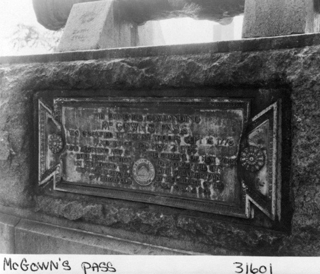 Photo of the original plaque, courtesy of the Central Park Conservancy